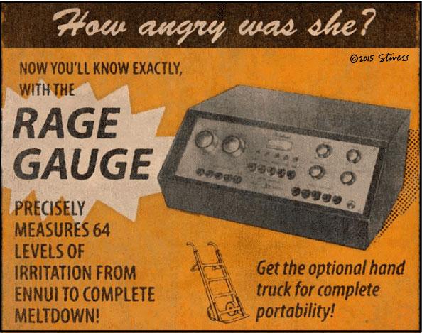 The rage gauge