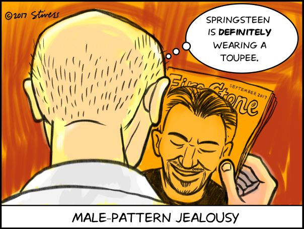 Male pattern jealousy
