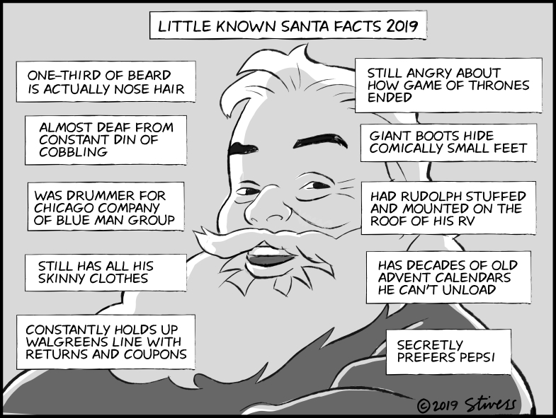 Little-known Santa facts 2019