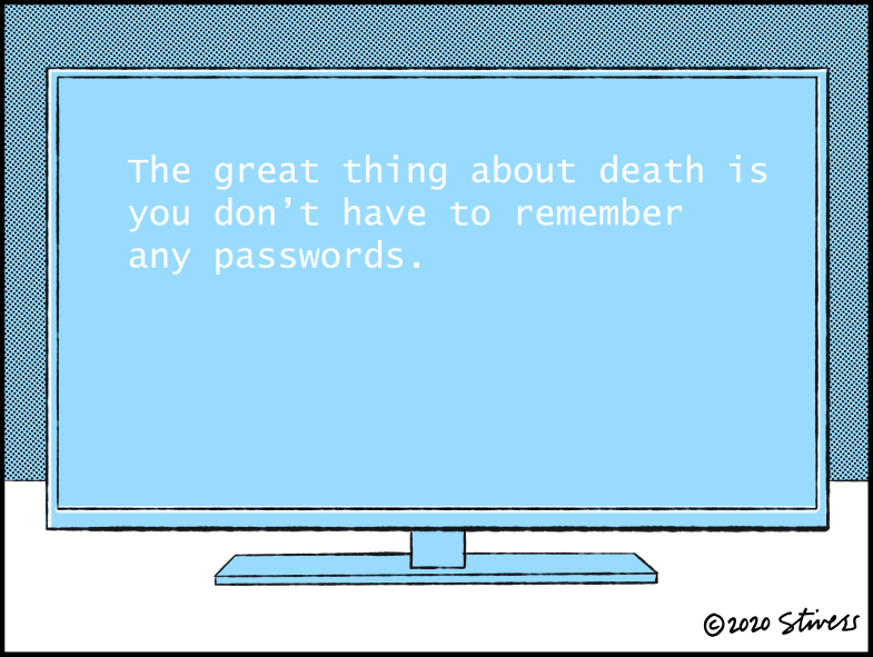 The great thing about death