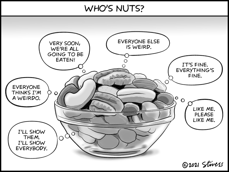 Who's nuts?