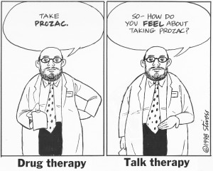 1998-06-01 Drug vs talk therapy