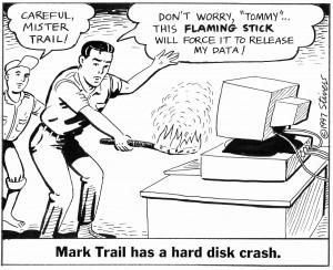 1997-09-01 Mark Trail's disk crash